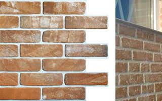 Декоративные стеновые панели, имитирующие кирпич