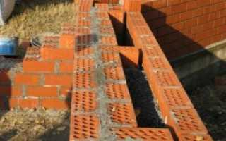 Толщина стены из кирпича по ГОСТу