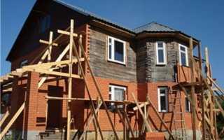 Обкладка деревянного дома кирпичом; преображаем фасад до неузнаваемости