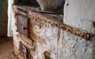 Чем белить печь – 4 эффективных способа