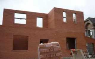 Как построить теплый дом из кирпича