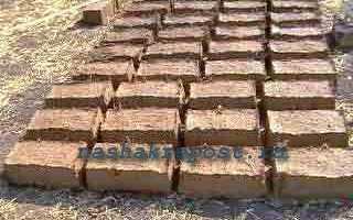 Кирпич из глины и соломы: этапы изготовления, материалы
