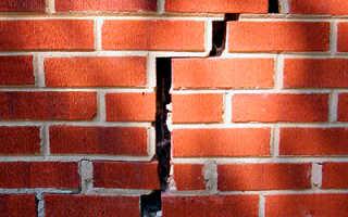 Как выполняется усиление фундамента готового кирпичного дома