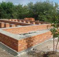 Какой фундамент нужен для дома из кирпича
