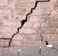Трещины в доме – причины появления, методы устранения