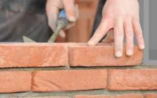 Рекомендации по кладке стен из кирпича