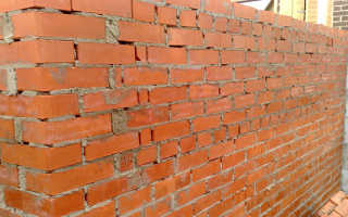 Оптимальная толщина кирпичной стены