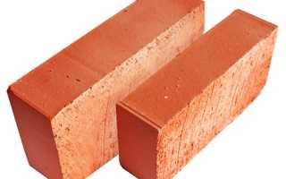 Керамический кирпич — виды поризованного кирпича, технические характеристики