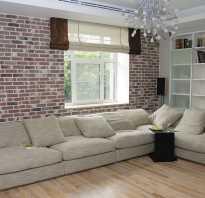 Способы декоративной отделки стен дома под кирпич