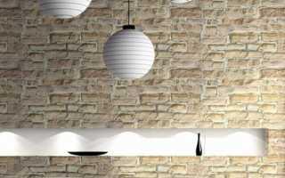 Как сделать модную кирпичную стену своими руками