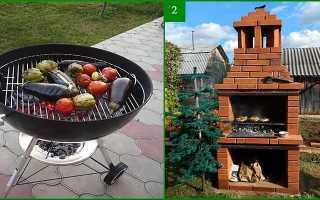 Барбекю: варианты конструкций и выбор материала для постройки своими руками