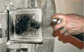 Как выбрать термостойкую краску для печи
