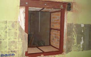 Как сделать оконный или дверной проём в стене
