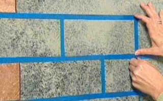 Как сделать имитацию кирпичной стены; от подготовки до финишной отделки