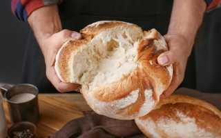 Выпечка хлеба в Русской печи